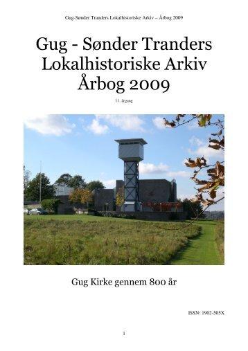Gug - Sønder Tranders Lokalhistoriske Arkiv Årbog 2009