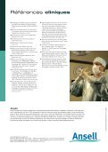 La technologie Hydrasoft - Ansell Healthcare Europe - Page 4