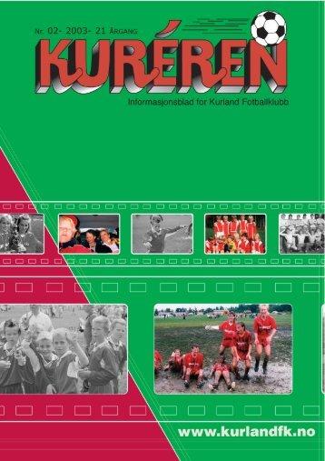 Kureren 2/2003 - Kurland FK