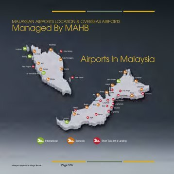 Airports In Malaysia Managed By MAHB - ChartNexus