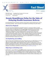 View the PDF of this Report - Democratic Policy & Communications ...
