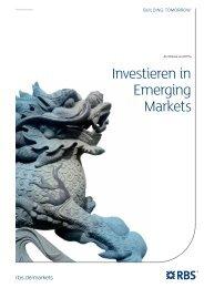 Investieren in Emerging Markets - RBS