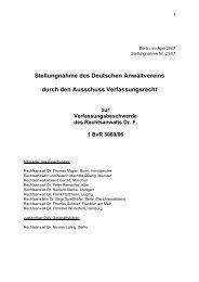 2007-21 - Deutscher Anwaltverein