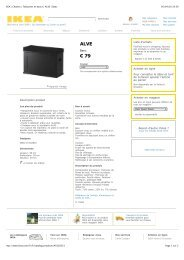 IKEA | Chaises | Tabourets et bancs | ALVE | Banc