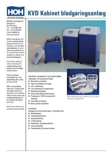 KVD saltfilter - Bent Brandt WebShop