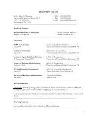 Preethika Suresh - Kelley School of Business - Indiana University