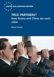 How Russia and China see each other - Carnegie Endowment for ...