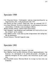 Specialer 1980 Specialer 1981