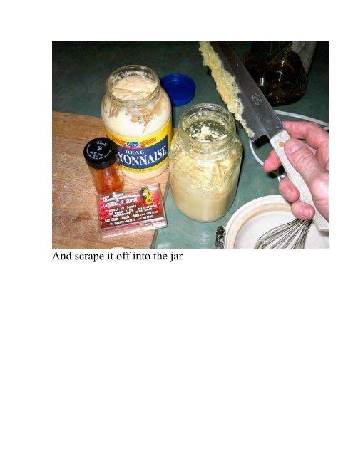 Aioli Juan's Cheating Method - The Geriatric Gourmet