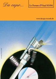 Le Forum 01/2001 - Da capo