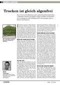 Trocken ist gleich algenfrei - Sachverständiger HLADIK - Seite 2