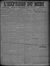 11 Novembre 1902 - Bibliothèque de Toulouse