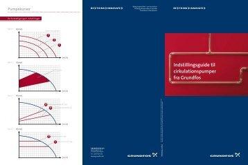 Indstillingsguide til cirkulationspumper fra Grundfos - Venton