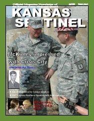 April Sentinel ii.pub - Kansas Adjutant General's Department