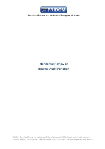 ROLE OF INTERNAL AUDITORS IN RISK MANAGEMENT Essay