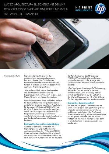 PDF-Version dieser Erfolgsgeschichte - HP