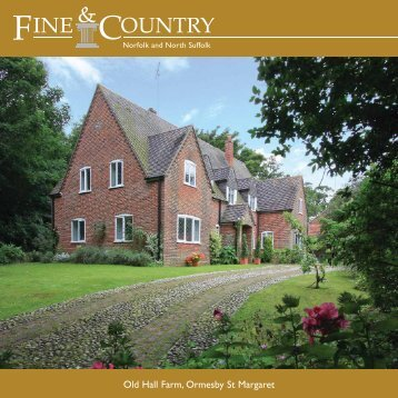 Old Hall Farm, Ormesby St Margaret - Fine & Country