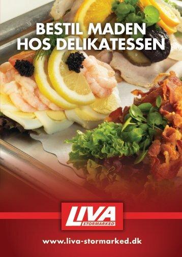 Delikatesse - Brochure - Liva Stormarked