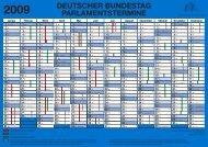 deutscher bundestag - parlamentstermine 2009 - Uta Zapf