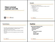 UML - Software Engineering Research Group