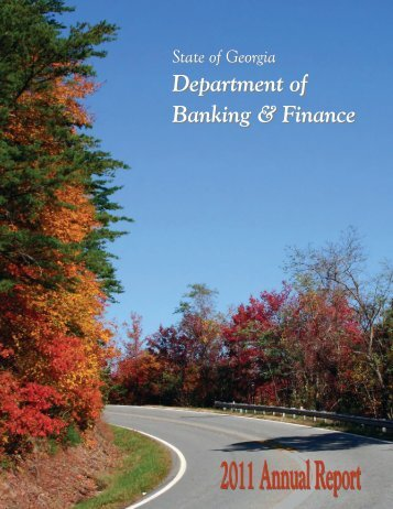 Department of Banking & Finance - Department of Banking and ...