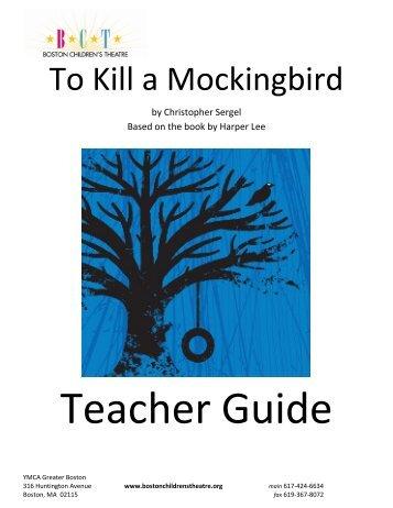 To Kill a Mockingbird - Boston Children's Theatre