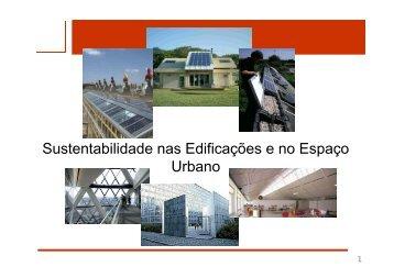 Introdução à sustentabilidade - Laboratório de Eficiência Energética ...