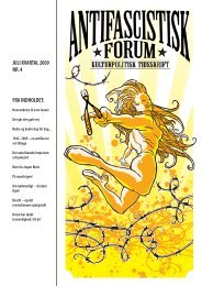 Juli 2009 - Foreningen Antifascistisk Forum