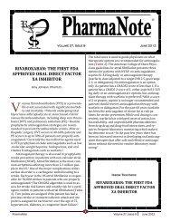 June 2012 - College of Pharmacy - University of Florida