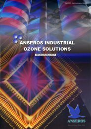 Anseros Industrial Ozone Solutions in the Semiconductor Industry