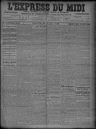 26 Mars 1909 - Bibliothèque de Toulouse