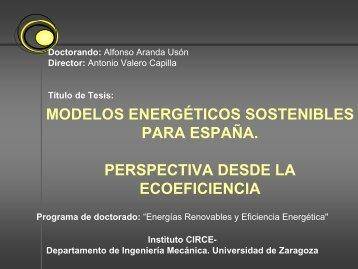 visión complementaria de la e4 - circe - Universidad de Zaragoza