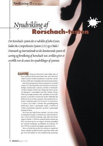 Rorschach-testen - Elbo