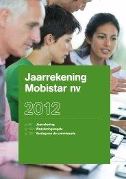 Deel 2 : activiteitenverslag - Mobistar