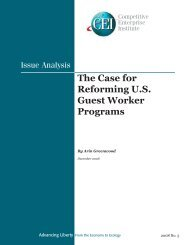 The Case for Reforming U.S. Guest Worker Programs - Competitive ...