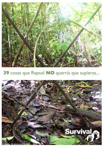 39 cosas - Survival International