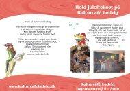 Hold julefrokost på Kulturcafé Ludvig www ... - NK-Design
