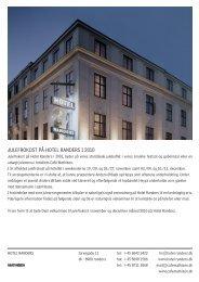JULEFROKOST PÅ HOTEL RANDERS I 2010
