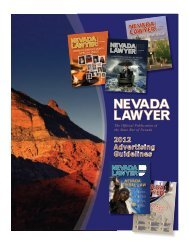 LAWYER - State Bar Of Nevada