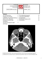 Nyt fra bestyrelsen 2 Nye uddanne - Dansk Radiologisk Selskab