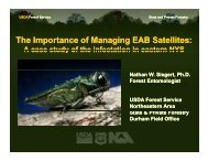 The Importance of Managing EAB Satellites: The Importance of ...
