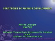 strategies to finance development - DAAD partnership on economic ...