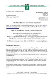 PDF-Download - des Deutschen Hanf Verband