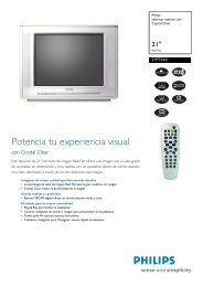 21PT5421/12 Philips televisor estéreo con Crystal Clear