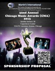 download in PDF - Martin International, Chicago Music Awards ...