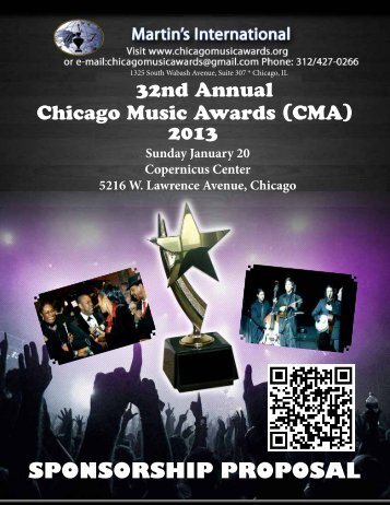 download in PDF - Martin International, Chicago Music Awards ...