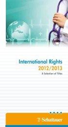 International Rights 2012/2013