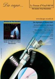 Le Forum 08/2010 - Da capo
