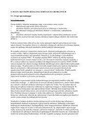 5. Ocena skutków działania substancji chemicznych - MANHAZ