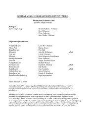 Referat fra miljøamtsrepræsentantmøde oktober 2003